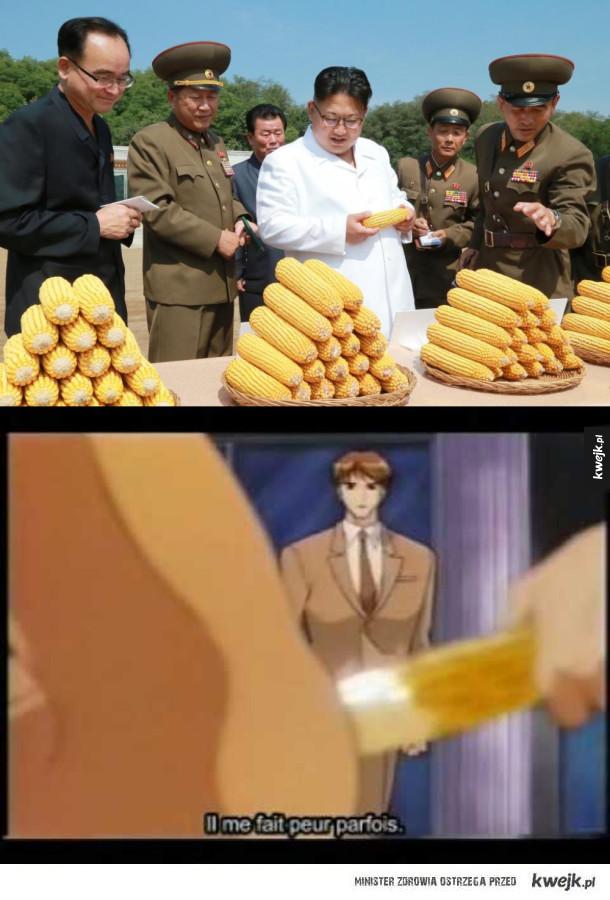 Kim wybiera kukurydze