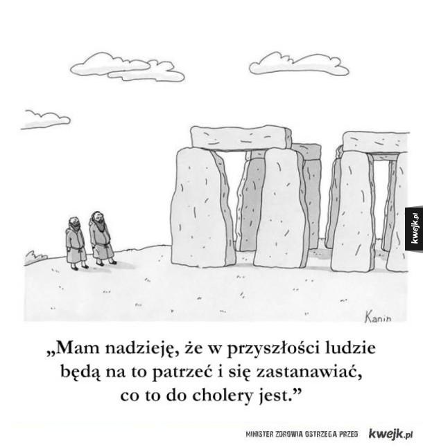 Satyryczne komiksy z tygodnika The New Yorker