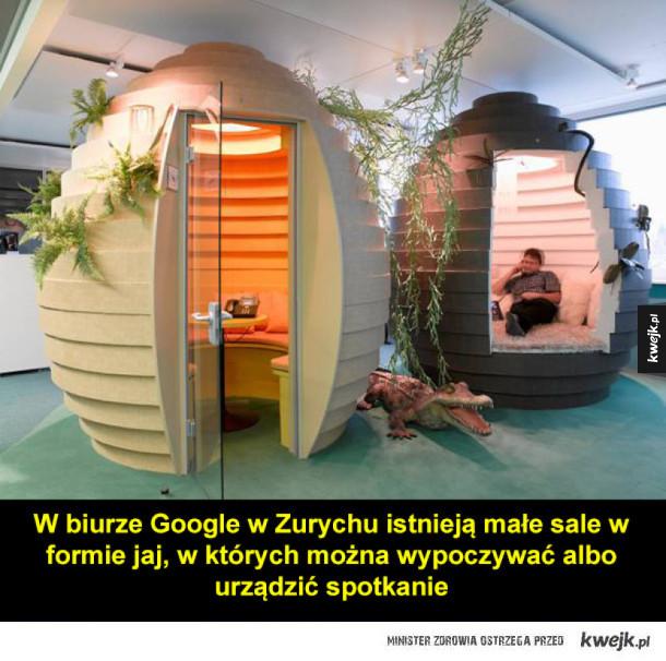 Google ma najfajniejsze biura