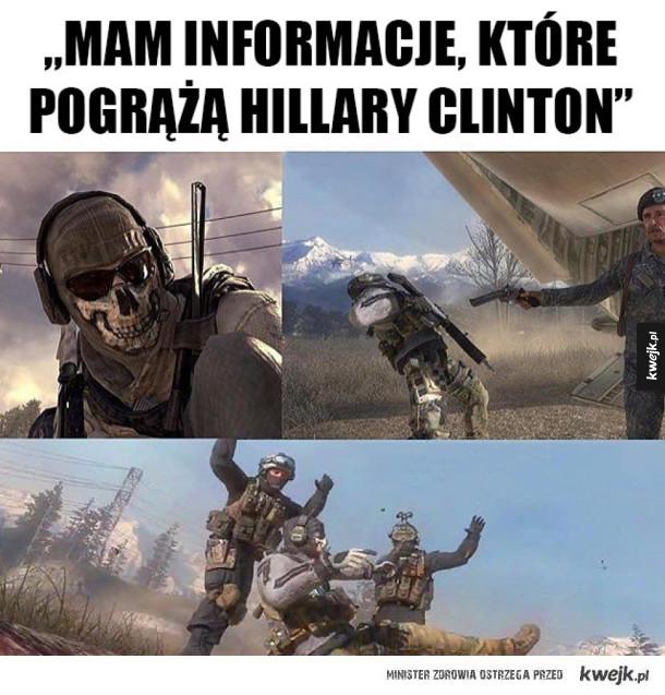 Tak kończą Ci, którzy szkalują Hillary