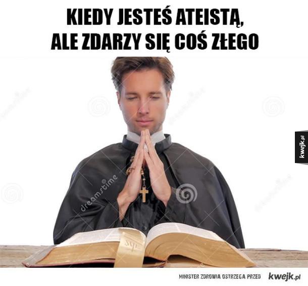 Typowy ateista