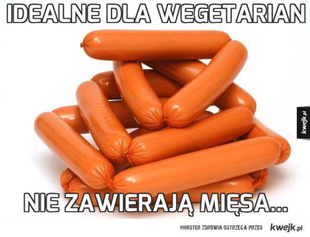Idealne dla wegetarian