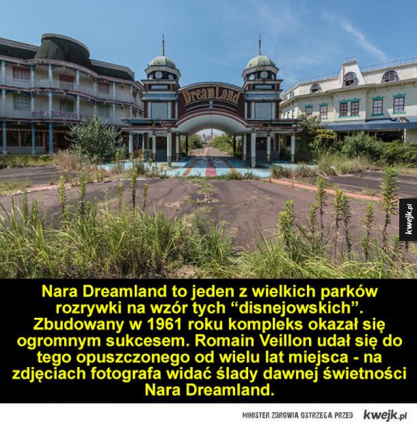 Nara Dreamland - opuszczony park rozrywki w Japonii
