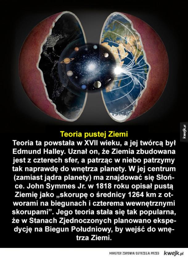 Szalone teorie dotyczące Ziemi i Wszechświata