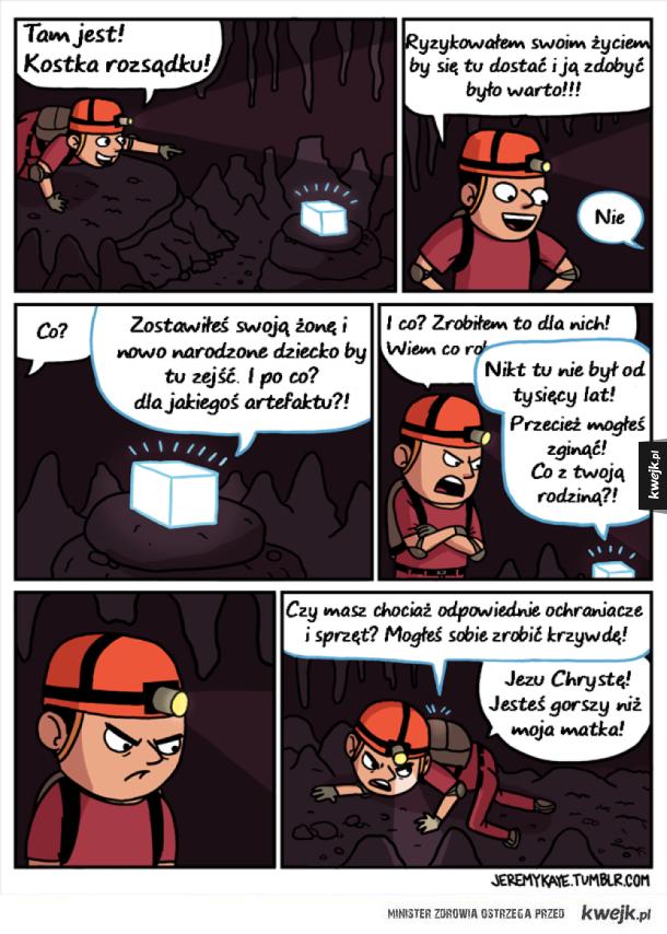 W poszukiwaniu kostki rozsądku