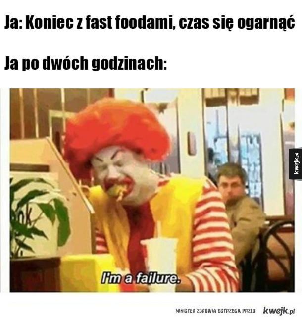Koniec z fast foodami