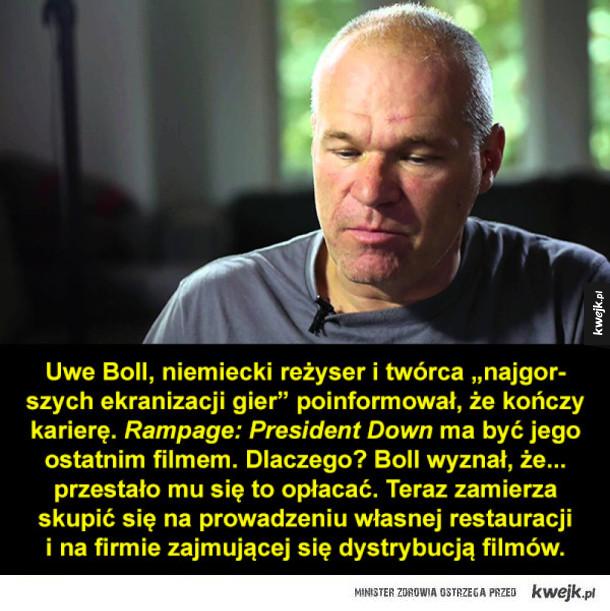 Dramat dla fanów Uwe Bolla
