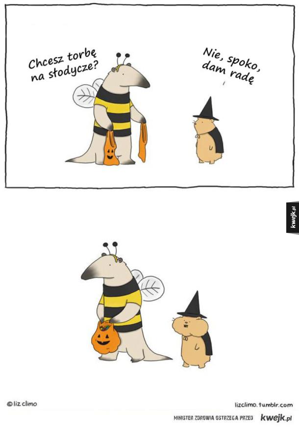 Gdyby zwierzęta obchodziły Halloween