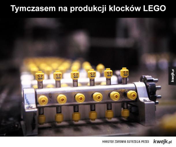 Tak się produkuje LEGO