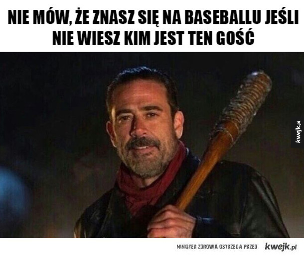 Baseball w The Walking Dead