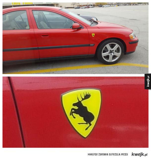 Wygląda na legitne Ferrari