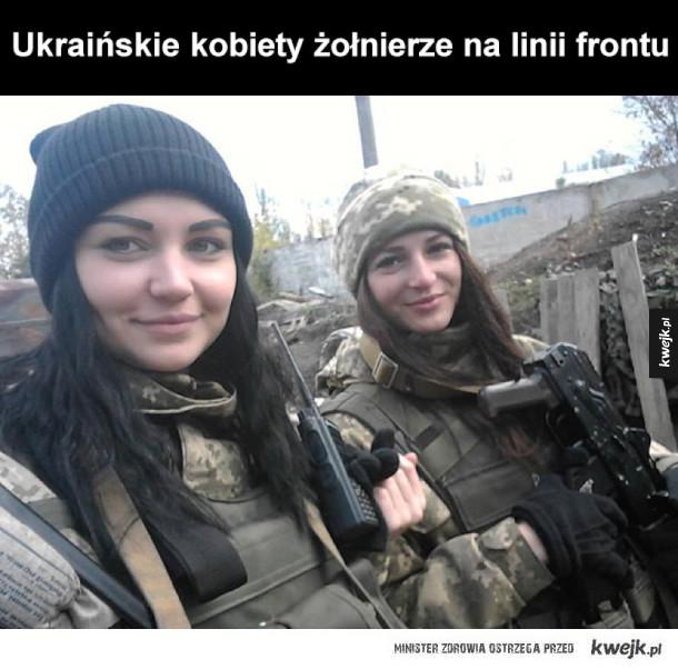 Śliczne i dzielne Ukrainki