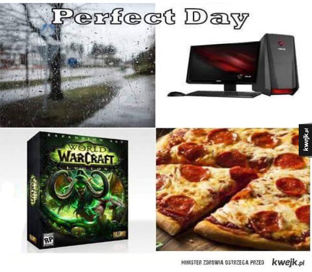 Idealny dzień ;)