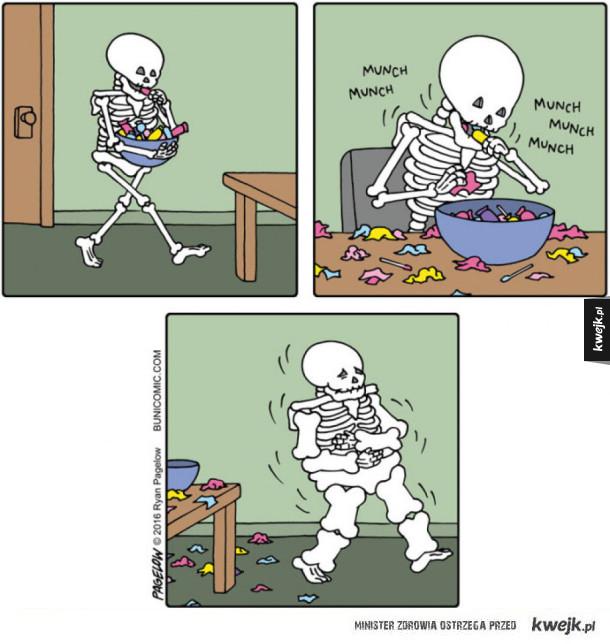 Nie jedzcie tak dużo słodyczy