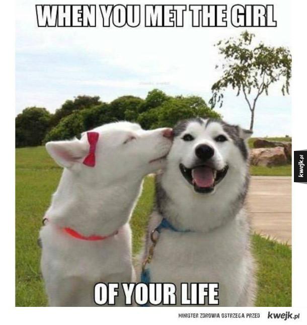 Kiedy poznasz tą jedyną! :)