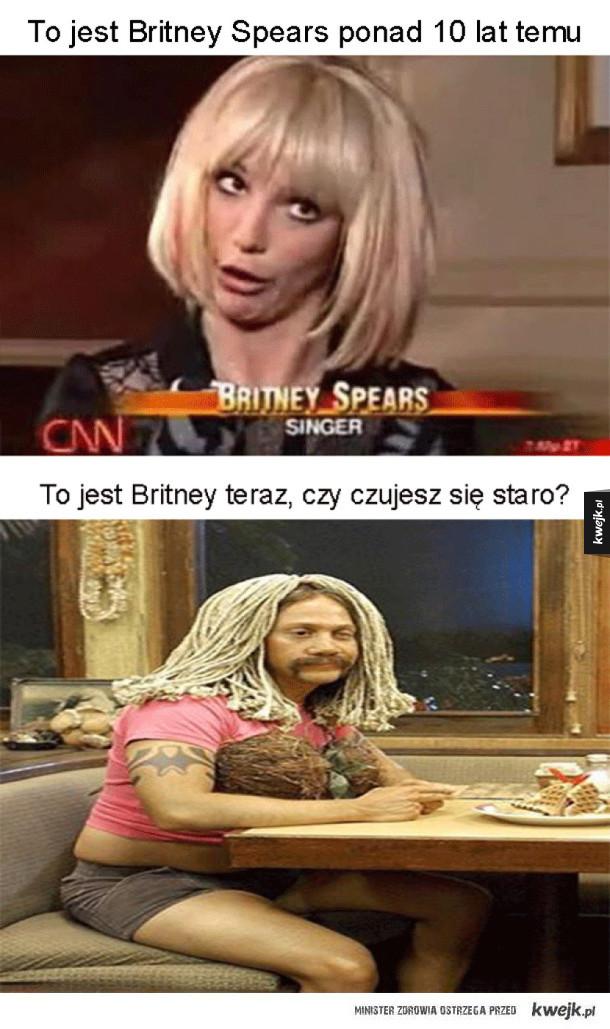 Britney Spears kiedyś i dziś