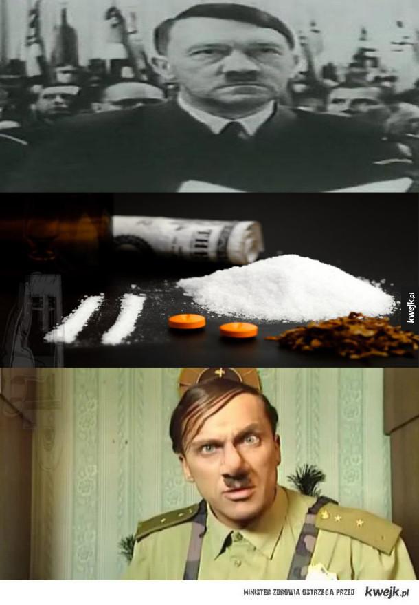 Adolf Hitler ćpał narkotyki