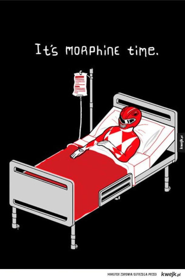 Czas na morfine! Nie, zaraz...