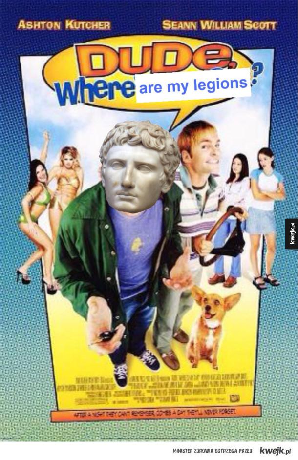Gdzie są moje Legiony?!