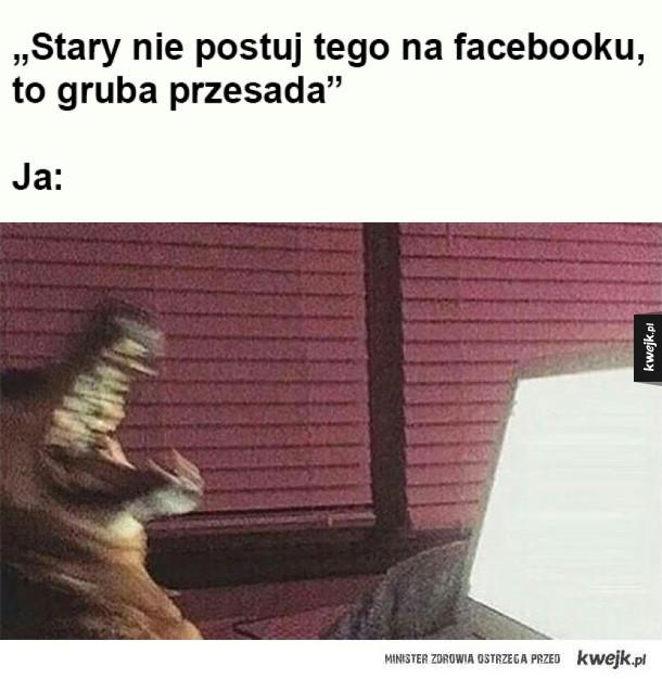 Kontrowersyjny post na facebooku