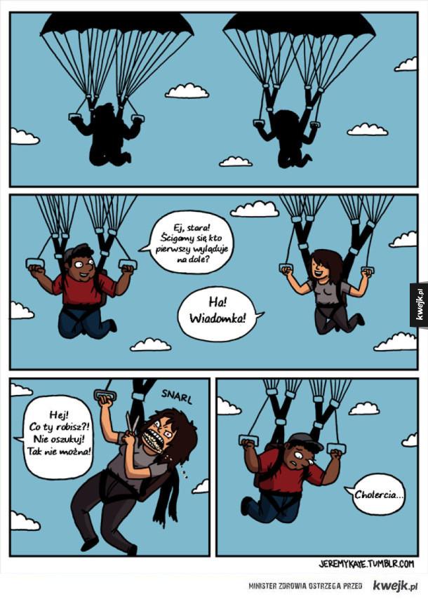 Wyścigi spadochroniarzy