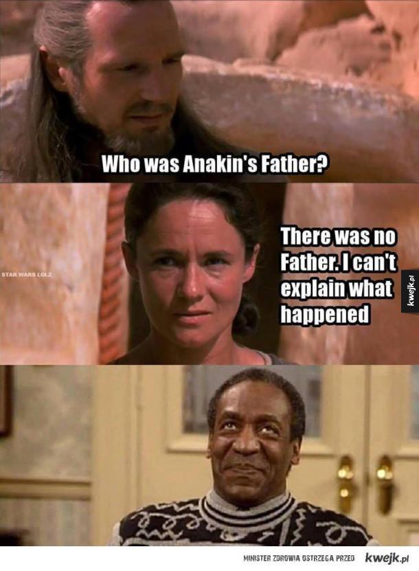 Ojciec Anakina dalej nieznany?