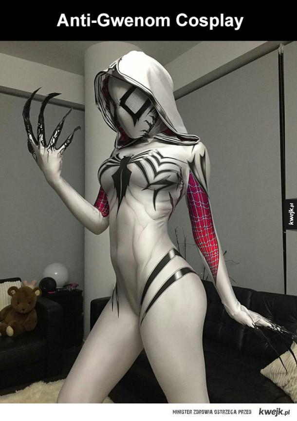 ten cosplay wygląda niesamowicie