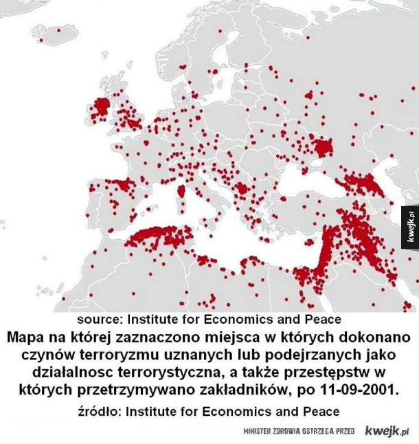 Ataki w Europie