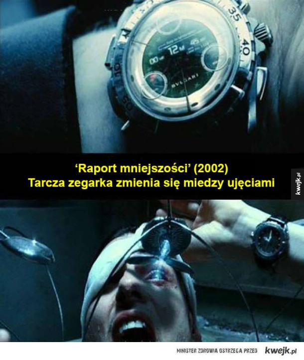 Filmowe błędy