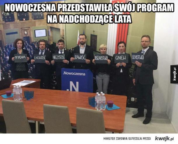 Partia przedstawiła program