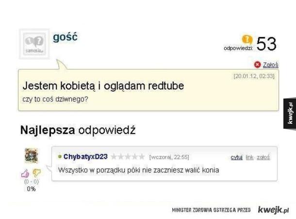 Dobra odpowiedź