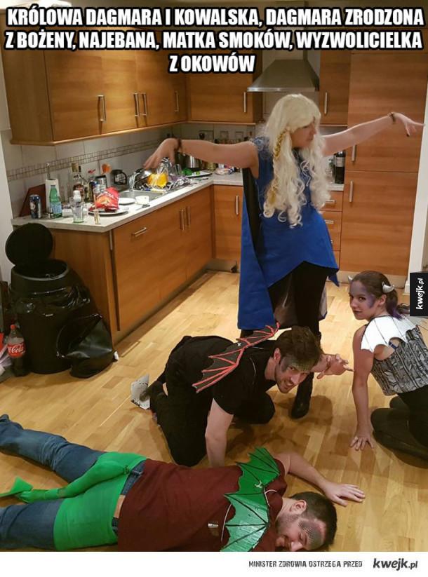 Daenerys matka smoków