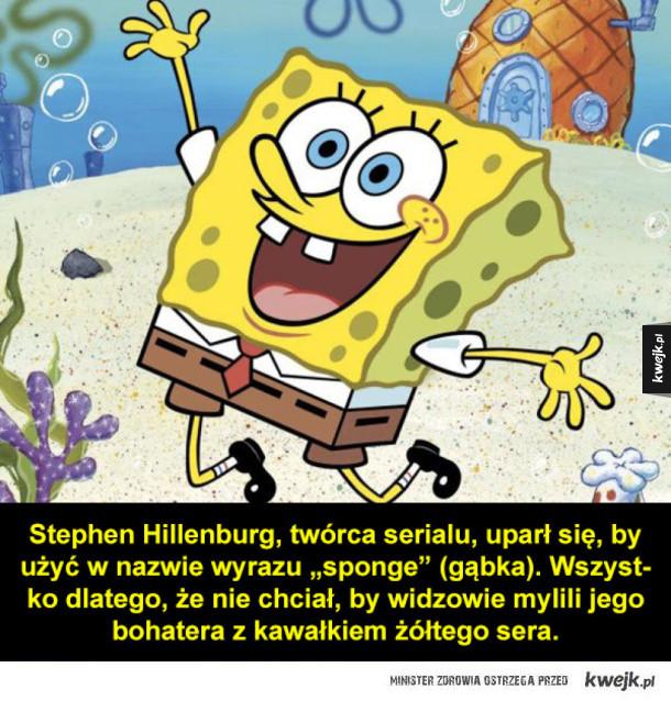 Garść ciekawostek o SpongeBobie Kanciastoportym