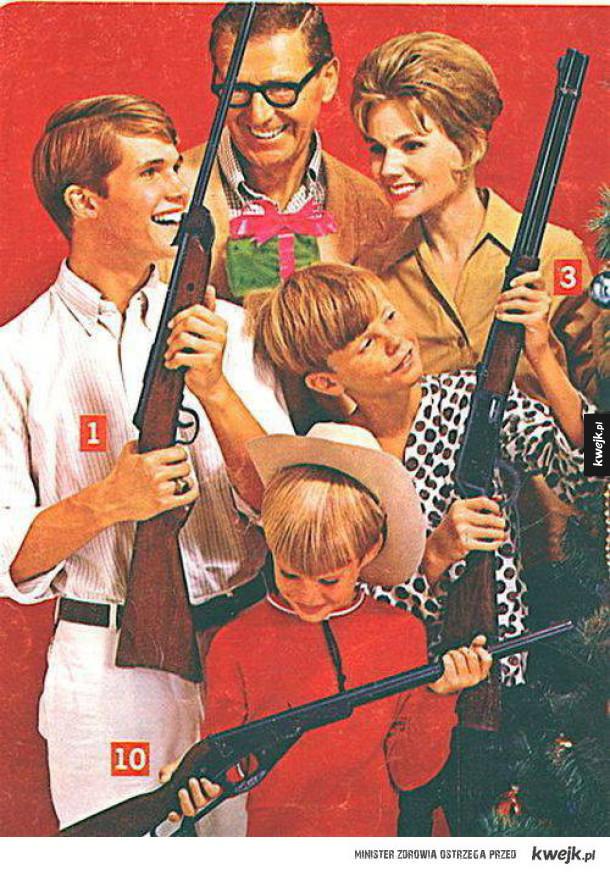 Stare reklamy broni