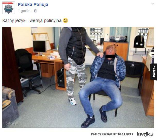 Policyjny karny jeżyk