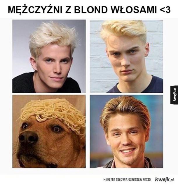 Blondyni są najpiękniejsi
