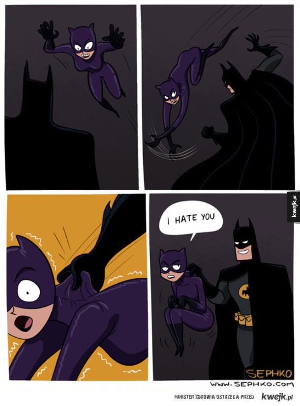 Batman VS Catwoman