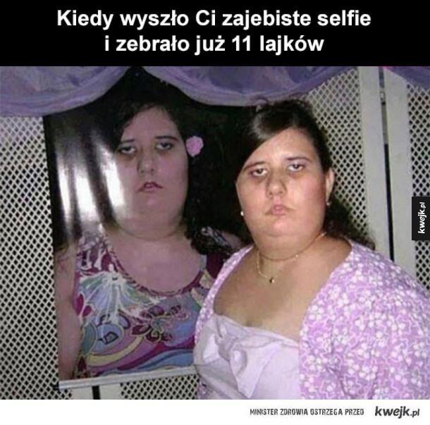 Dobrym selfie trzeba się pochwalić