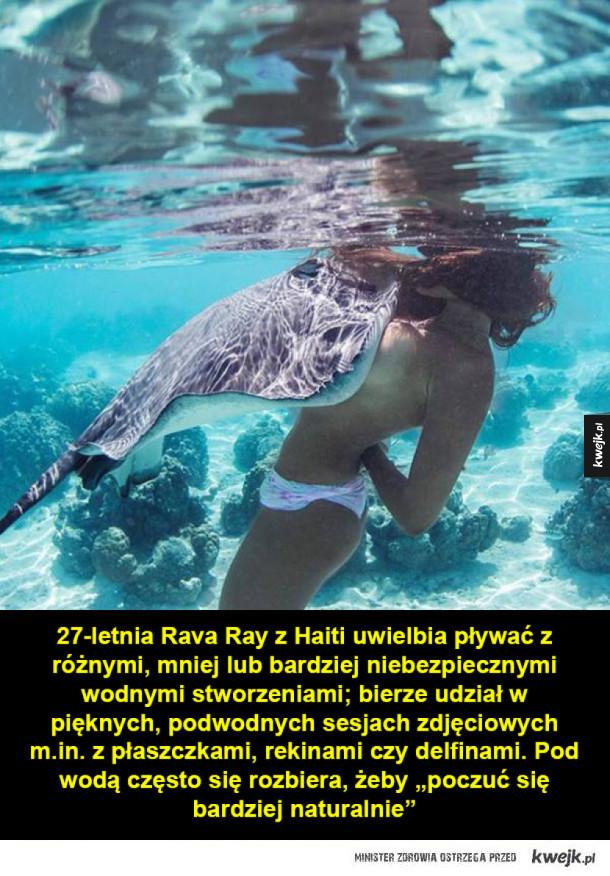 Podwodna modelka