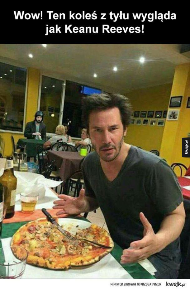 KeanuReevesocepcja - Keanu Reeves z zaskoczenia