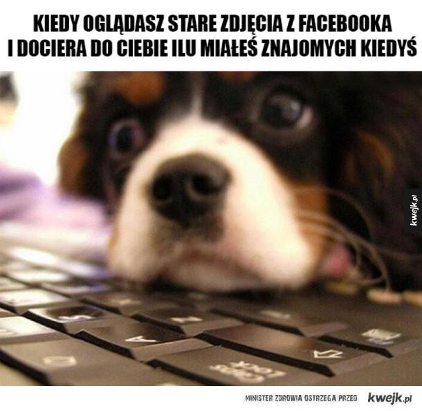 Oglądanie starych postów na Facebooku