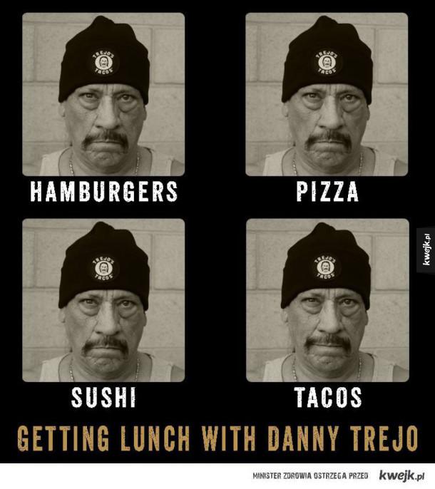 Lunch z Trejo!