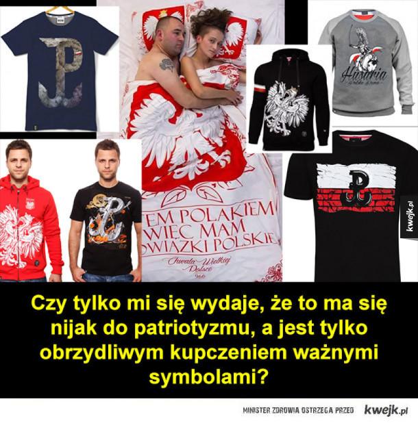 """Odzież """"patriotyczna"""""""