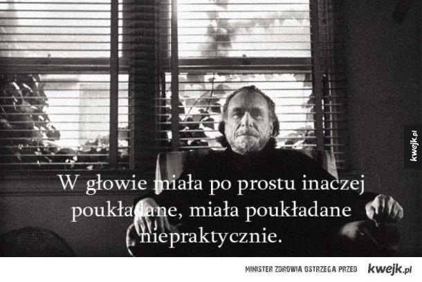 Bukowski zawsze w punkt