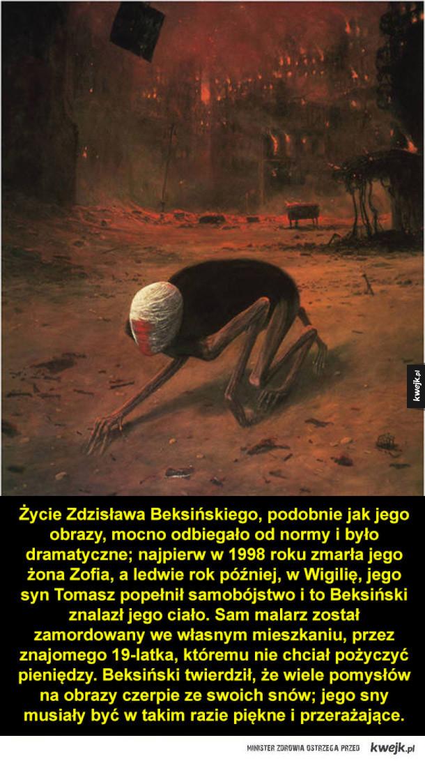 Obrazy Zdzisława Beksińskiego