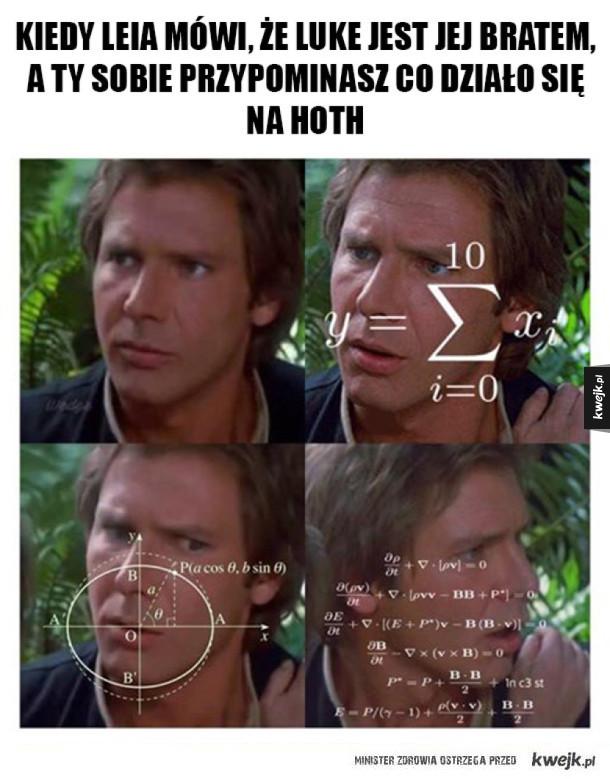 Han Solo ma problem