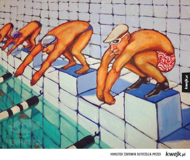 Prawdziwy słowiański pływak