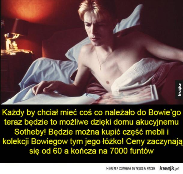 Aukcja z rzeczami Bowiego!