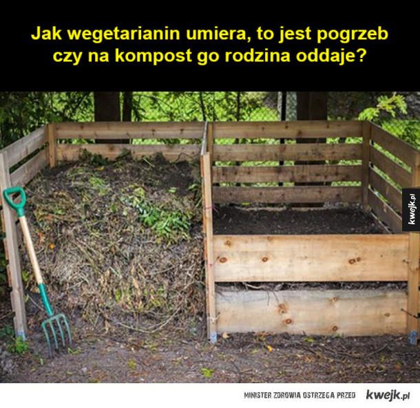 Jak wegetarianin umiera