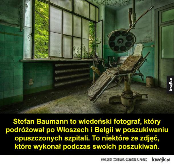 Opuszczone szpitale jak z horroru